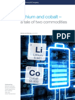 Lithium and Cobalt a Tale of Two Commodities