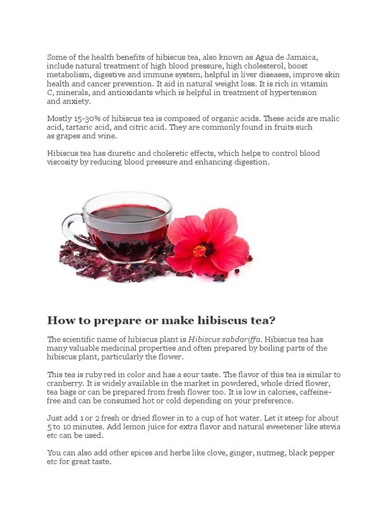 Hibiscus beverages wellness izmirmasajfo