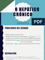 Daño hepático crónico