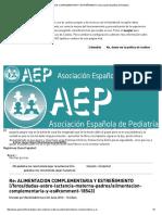 Alimentacion Complementaria y Estreñimiento _ Asociación Española de Pediatría