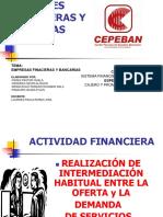 DIAPOSITIVAS ENTIDADES FINANCIERAS