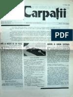 Carpatii Anul VIII Nr 1 10 Martie 1962