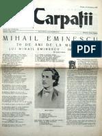 Carpatii Anul VI Nr 32-33-10 Iulie 10 Sept 1959