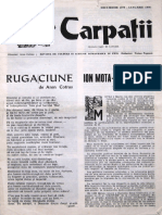 Carpatii Anul XXIII Nr 8 Dec 1977 Ian 1978