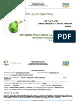 Geografía Secuencia Agosto -Montessori (Edgar Jesus Sagahón López)