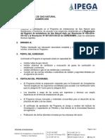 IPEGA.- Hoja Informativa Programa Tecnico Instalador de Gas Natural - INSL0518