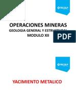 Modulo Xi_yacimiento Metalico