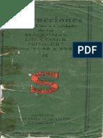Manual Maquina Coser Singer 15c