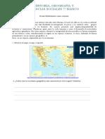 Guía grecia 7° básico