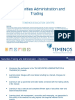 T3SCAT - Securities Administration & Trading - Front Office