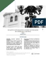 Boletin Informativo de Novedades en Derecho Laboral-Abril-2018