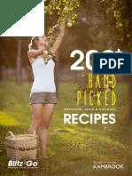 Blitz2Go Recipe Book