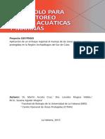 Protocolo Para El Monitoreo de Aves Acuáticas y Marinas