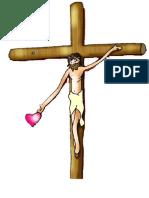 Jesus Cruficiado Da Amor