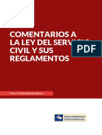 IV_UC_LI_Comentarios a La Ley Del Servicio Civil y Sus Reglamentos_2015