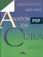 Anatomia Da Cura - Christine R. Page