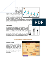 Posiciones de Los Jugadores y Reglas de Basquetbol
