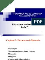 Aula7_Estruturas de Mercado
