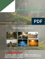 Gestión de los recursos naturales