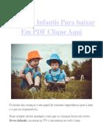 Livros de Histórias Infantís Em PDF Para Baixar Grátis