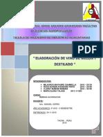 Elaboracion de Vino de Melon y Destilado
