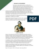 Biografía de Arquímedes