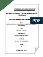 Monografia Derechos Reales - David Yucra