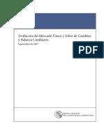 Informe Cambiario