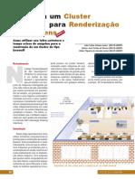CLUSTER PARA RENDERIZAÇÃO DE IMAGENS