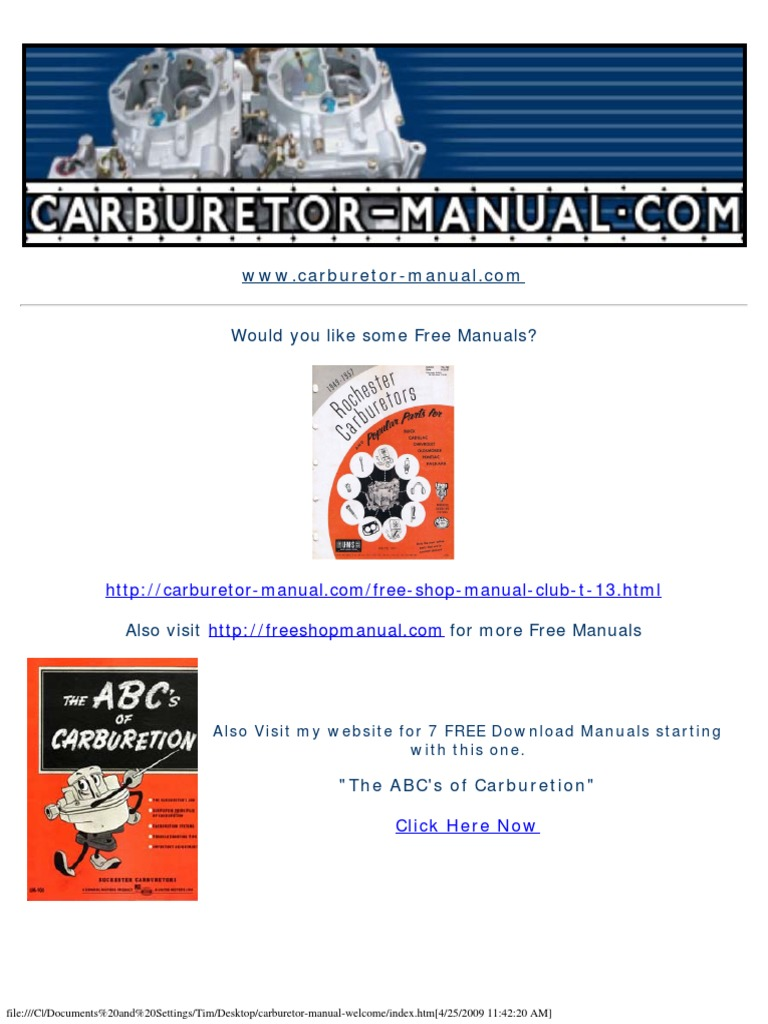 Mikuni Sudco Tuning Manual Ed4 Ocr | Carburetor | Throttle