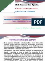 Contrataciones Estado UNSA 2018