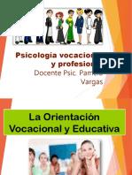 La Orientacion Educativa-Vocacional Unidad 1