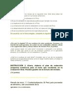 Teniendo Vert Conocimiento de Los Beneficios Que Traen Consigo El Uso de Productos Orgánicos y de Las Consecuencias Funestas Del Uso de Productos Químicos en La Agricultura Peruana