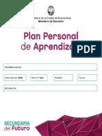 Plan Personal de Aprendizaje