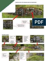 Registro Fotográfico Del Sitio Arqueológico de Qespewara
