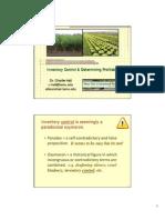 ProGreen 2008 Inventory Control