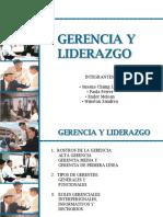 Gerencia y Liderazgo 1