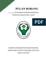 Borang Dr Wely Wahyura