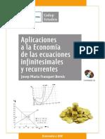 aplicaciones de la economía de las ecuaciones infidicinales