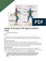 Análisis de Los Puntos SP6 Según La Medicina China