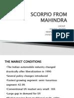 Scorpio From Mahindra