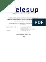 Proyecto de Servicios Informáticos Telesup Word