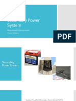Secondary Power System