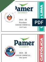 Folder u de Lima 2018