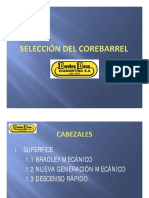 Selección Del Corebarrel