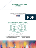 Informe Monitor Educativo 2017