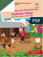 Buku Siswa Kelas 3 Tema 1 Revisi 2018