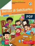 Buku Siswa Kelas 3 Tema 3 Revisi 2018