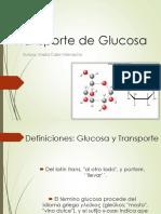Transporte de Glucosa-