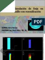Simulación de Forja en Anillo Con Rezonificación 1